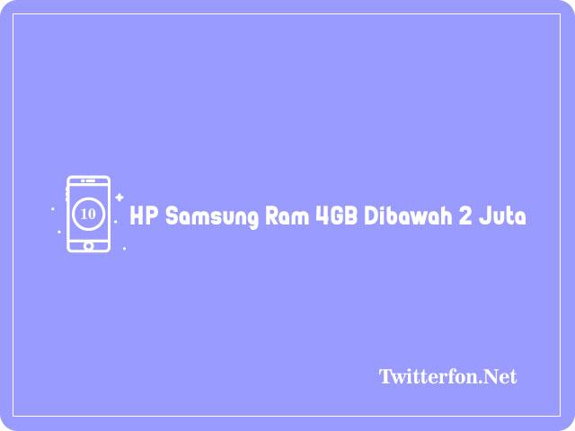 HP Samsung RAM 4GB Dibawah 2 Juta