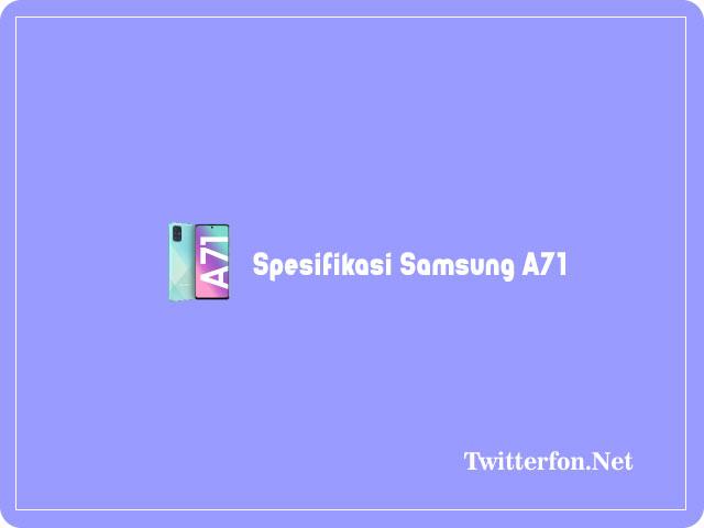 spesifikasi samsung a71