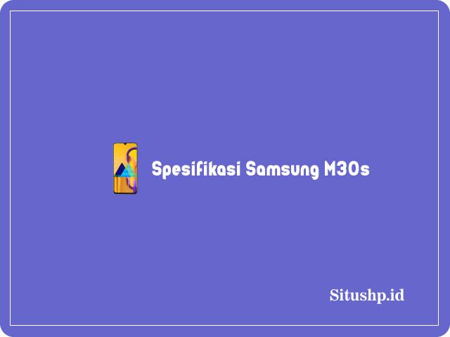 Spesifikasi Samsung M30s